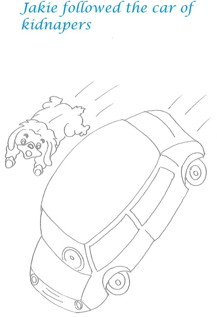 Kidnap story printable coloring pages for kids 23