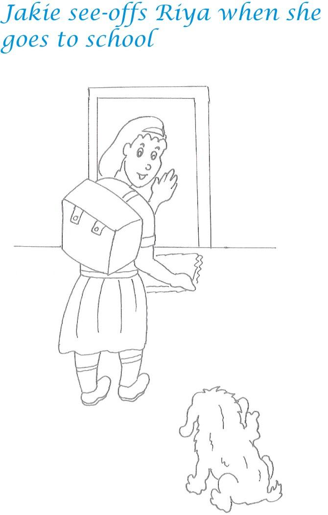 Kidnap story printable coloring page for kids 17