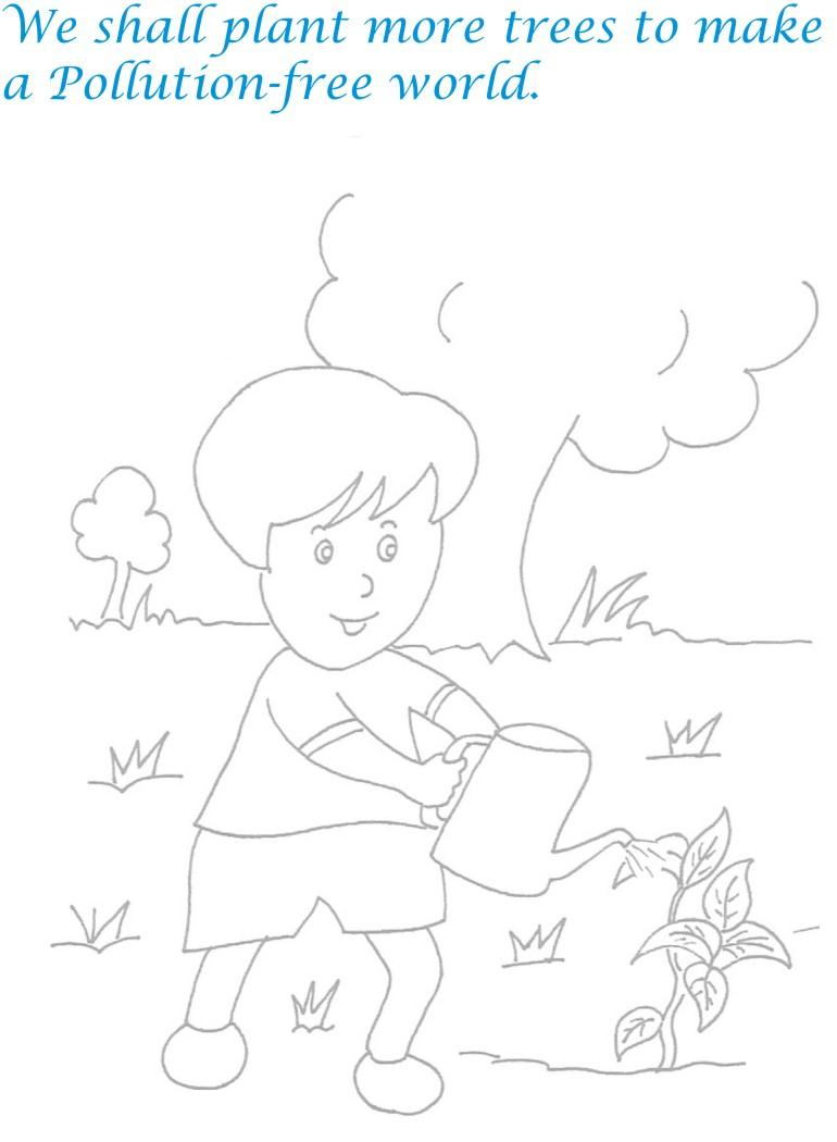 Childrens day printable coloring page for kids 20