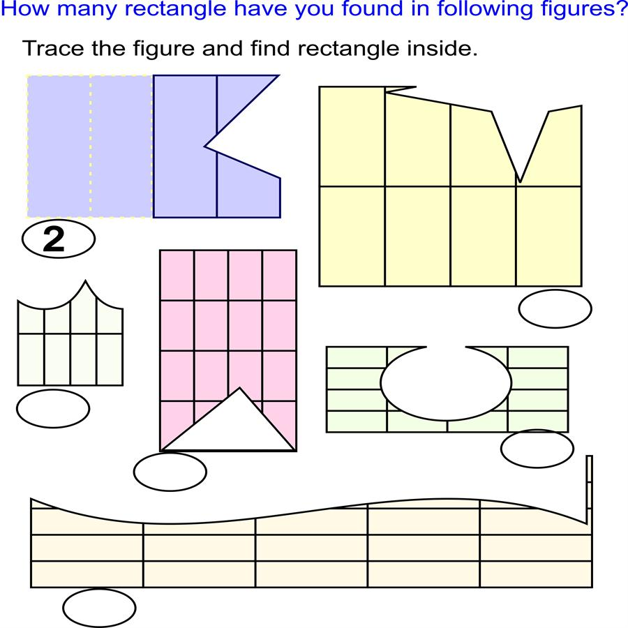 Trace rectangle