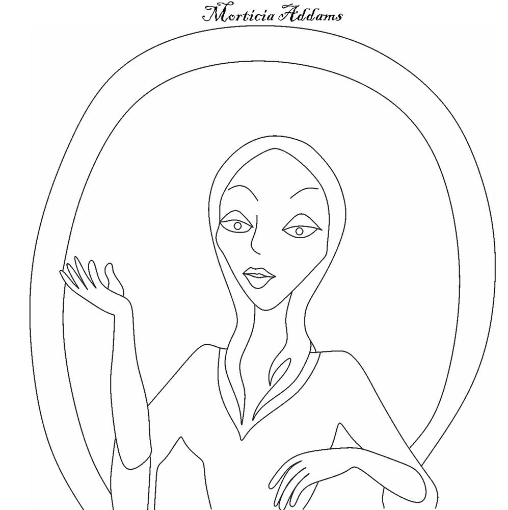 The Addams Family character - Morticia Addams