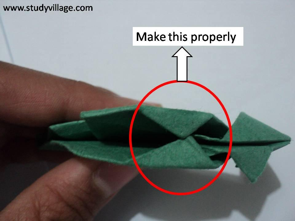 How to make Paper Monkey - Step 13