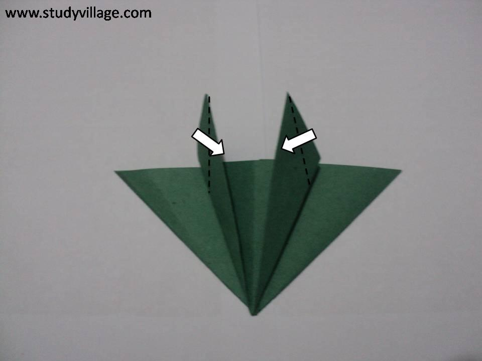 How to make beautiful Paper Caterpillar - Step 8