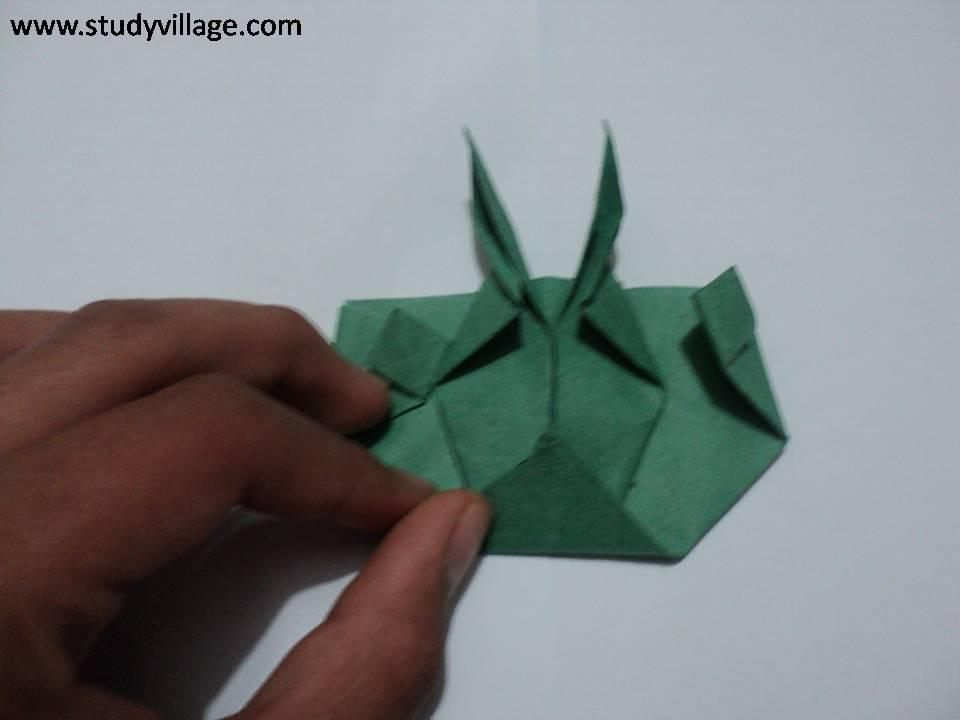 How to make beautiful Paper Caterpillar - Step 14