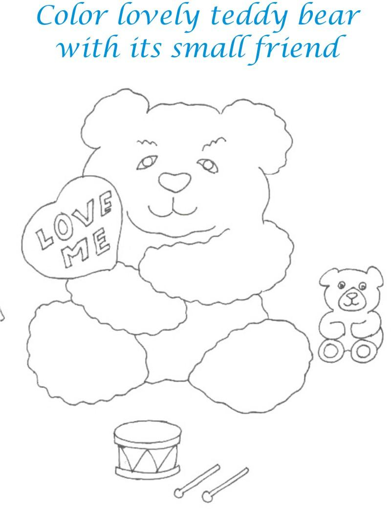 Dolls coloring printable page for kids 27