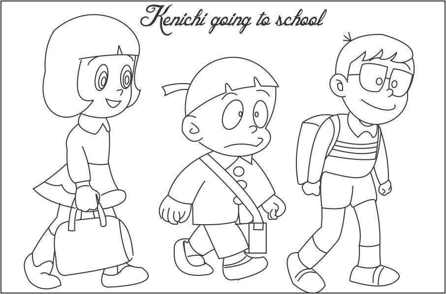 coloring pages ninjas cartoon - photo#26
