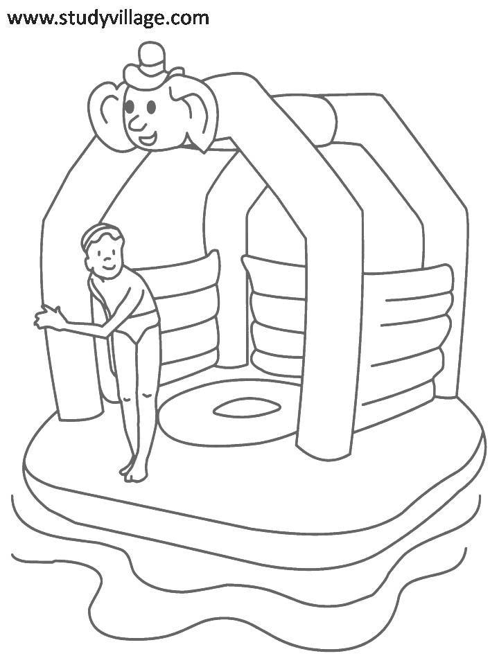 Summer Holidays Coloring Page For Kids 10