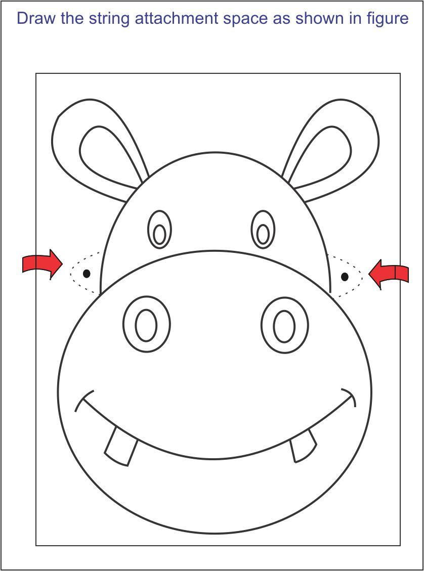 How To Make A Face Mask In Some Simple Steps Childrens party mask halloween mask lion printable pdf these pictures of this page are about:free printable lion mask. face mask in some simple steps