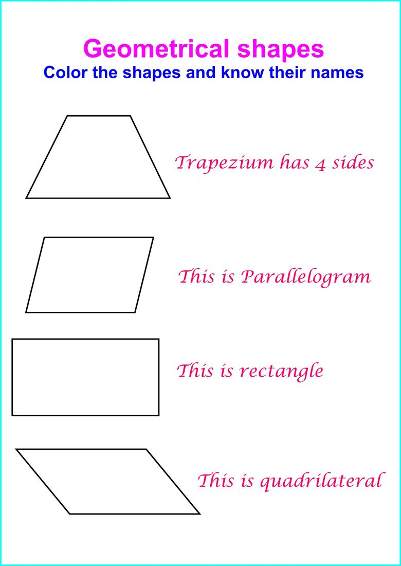 Have fun with Geometrical shapes - part III