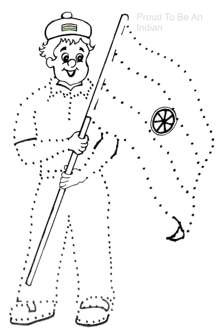 Dot To Dot Pictures On Independence Day 6