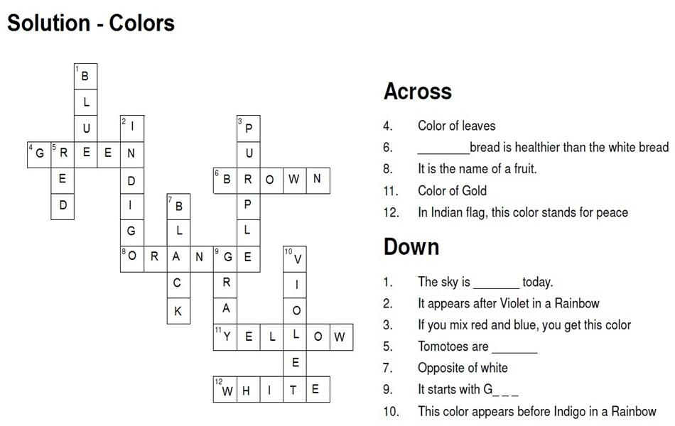 Solution - Color Puzzle