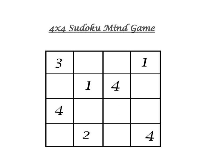 picture relating to Sudoku 6x6 Printable named Simple point Sudoku printable sheets for young children