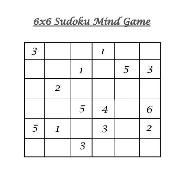 Medium level Sudoku work sheets