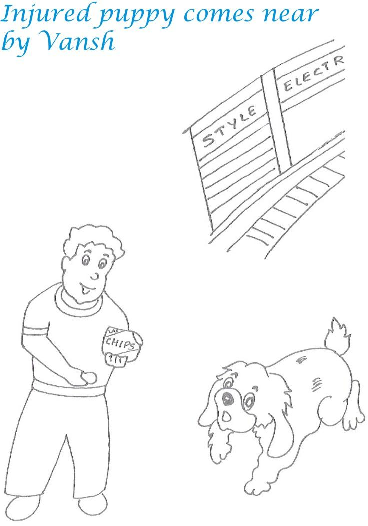 Kidnap story printable coloring page for kids 4