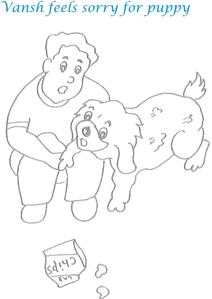 Kidnap story printable coloring page for kids 5