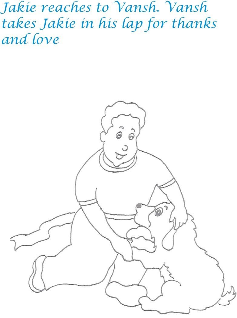 Kidnap story printable coloring page for kids 35