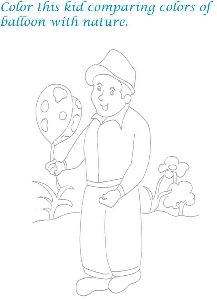 Childrens day printable coloring page for kids 21