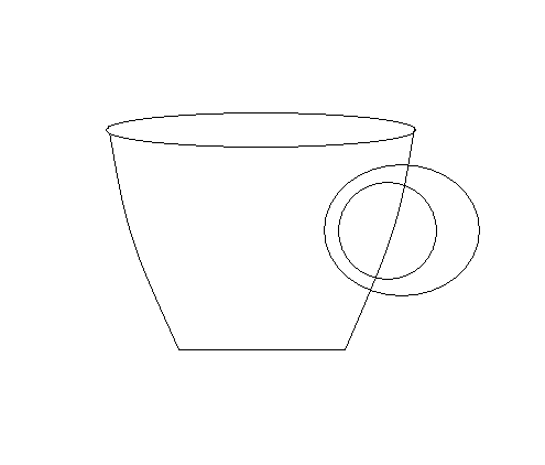 step 6  to make a tea cup