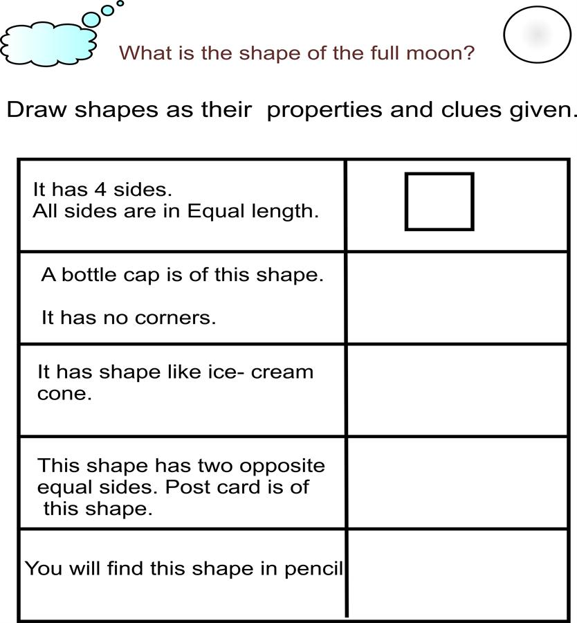 Shape quizzes