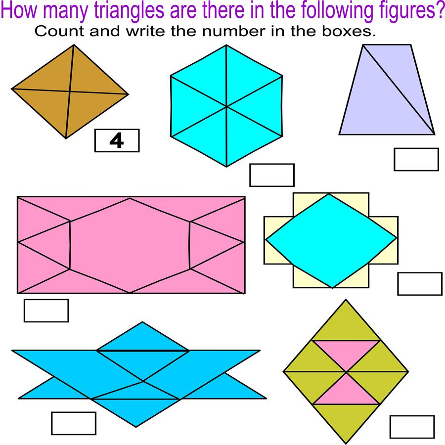 Find triangles
