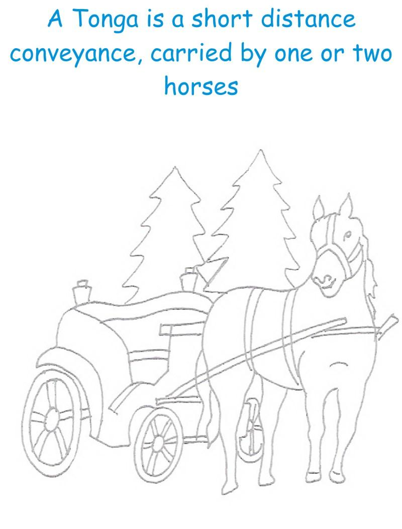 Tonga printable coloring page for kids