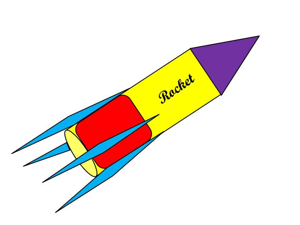 Finally your Rocket is ready with beautiful colors