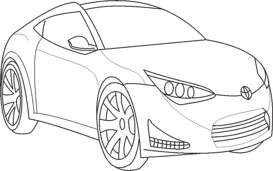 Super Car Toyota Coloring Page For Kidsrhstudyvillage: Toyota Car Coloring Pages At Baymontmadison.com