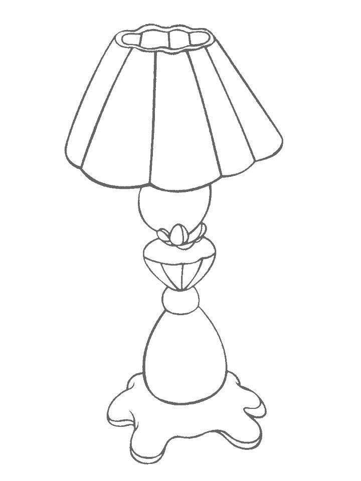 Daily Necessities coloring page