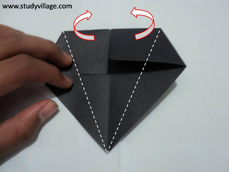 How to make Paper Talking Crow - Step 4