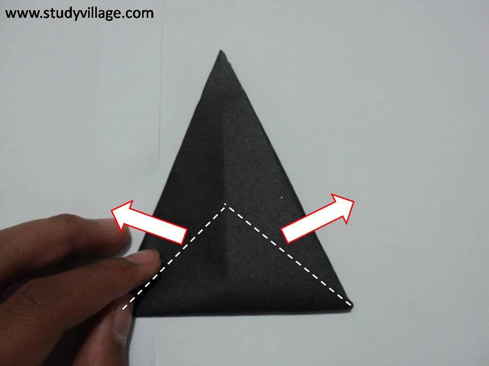 How to make Paper Talking Crow - Step 7