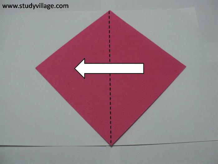 How to make a Sail-A-Yatch Paper Boat - Step 1
