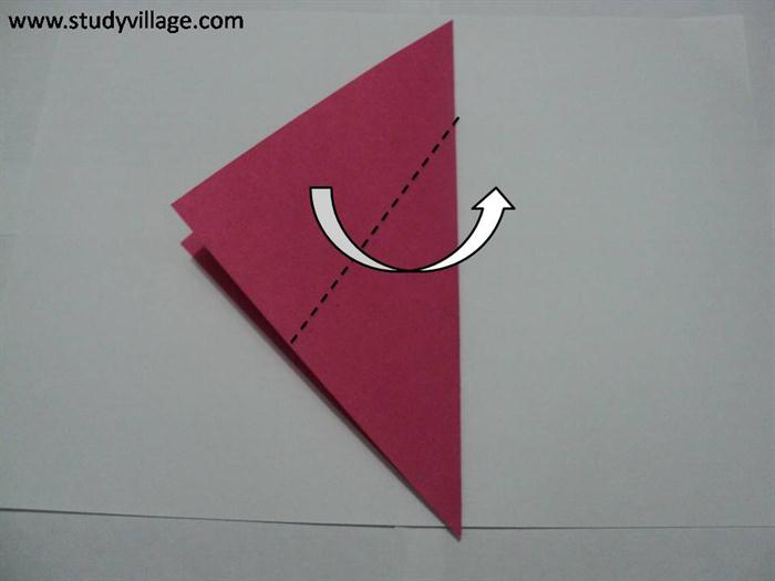 How to make a Sail-A-Yatch Paper Boat - Step 2