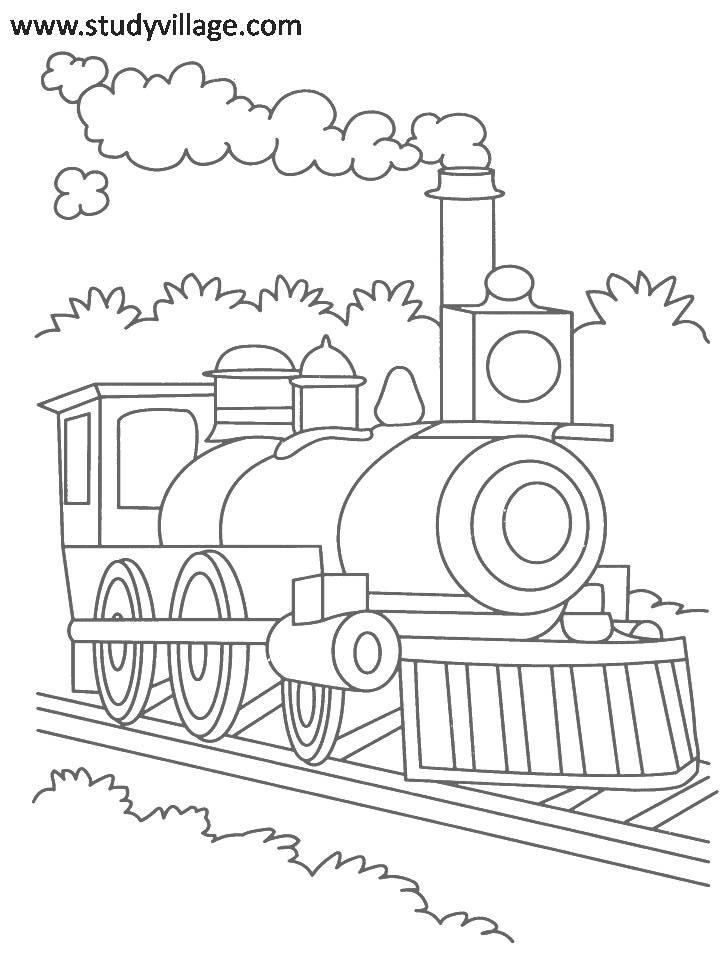 Summer Holidays Printable Coloring Page For Kids 9