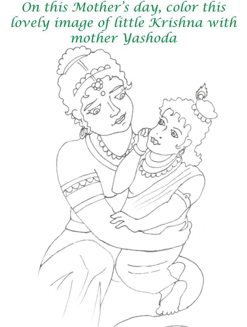 Mothers day printable coloring page for kids 17