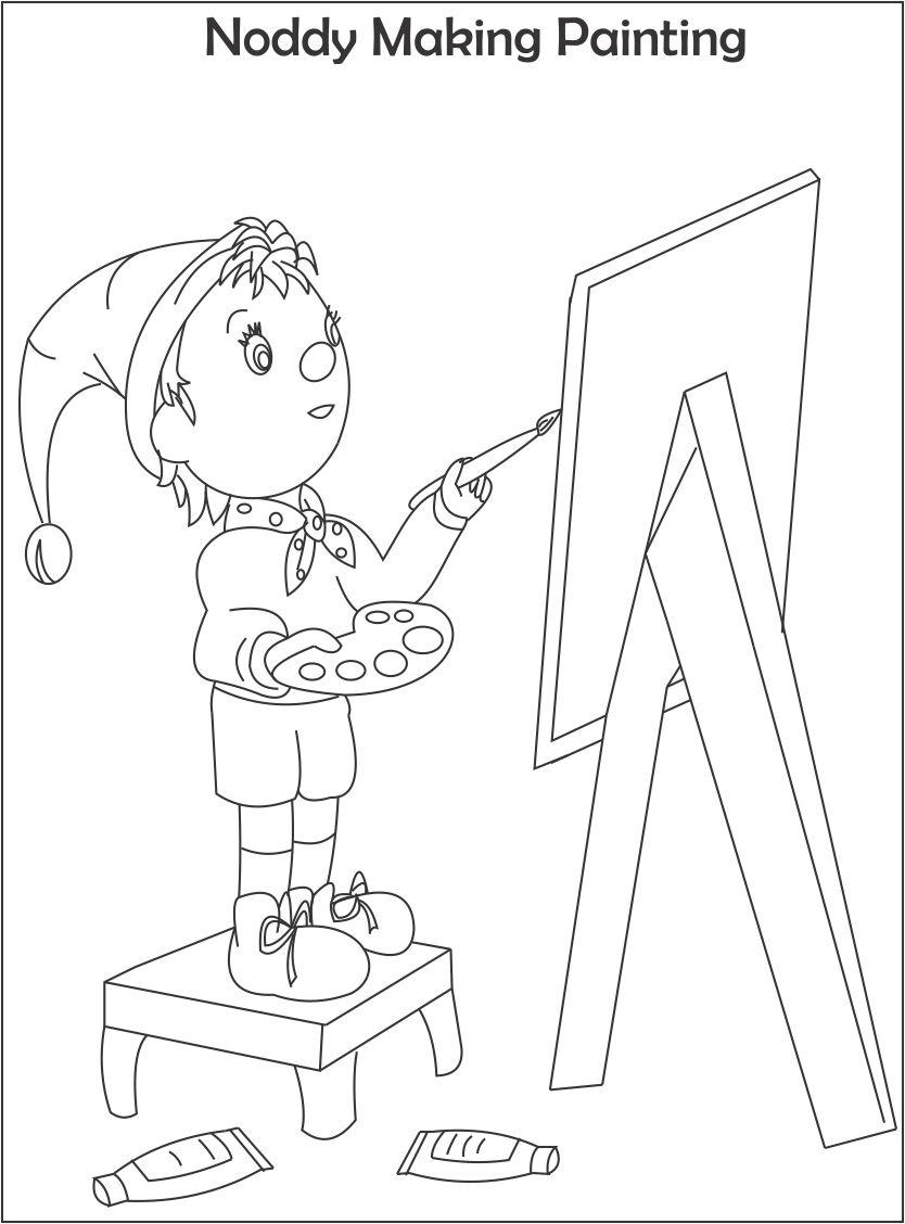 painting and coloring pages - photo#15