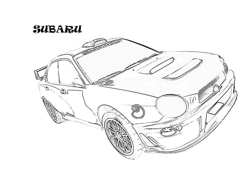 Exotic cars printable coloring page for kids 12
