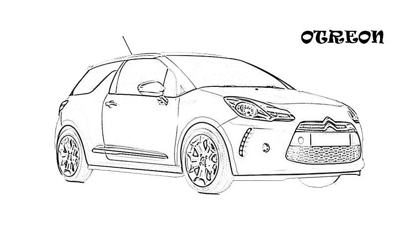 Exotic cars printable coloring page for kids 13