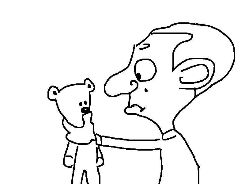 mr bean printable coloring pages for kids19