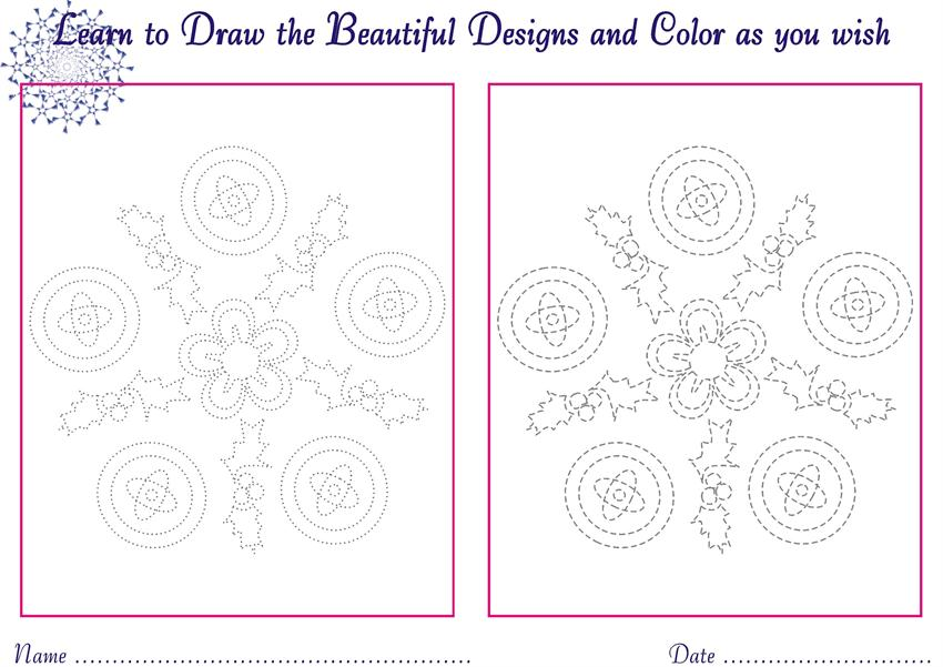 Designs to draw for Kids - coloring pages7