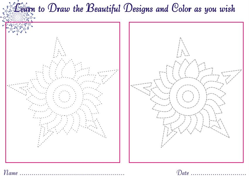 Designs to draw for Kids - coloring pages9