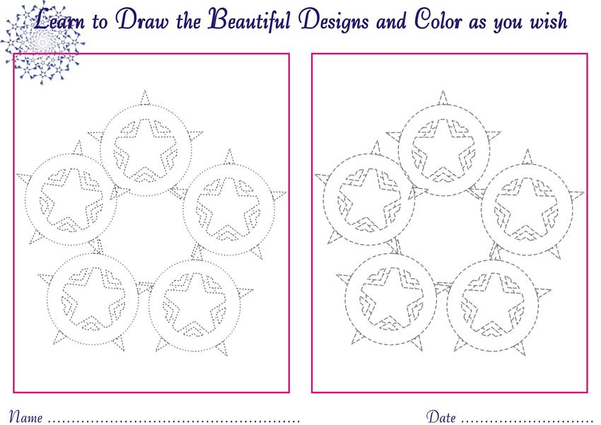 Designs to draw for Kids - coloring pages 14