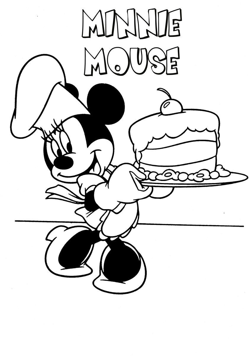 Mickey Mouse Coloring Page19