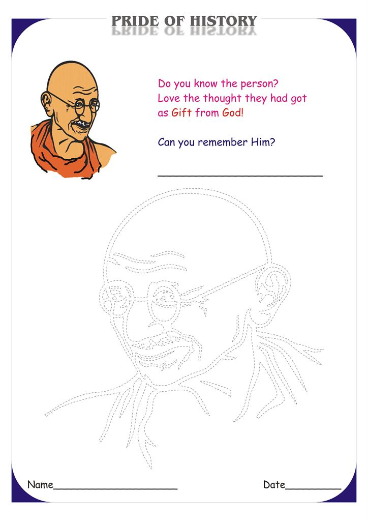 The Prides of our Country- The Gandhi (Ji)