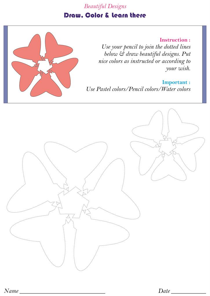 Beautiful flower designs - pg. 10