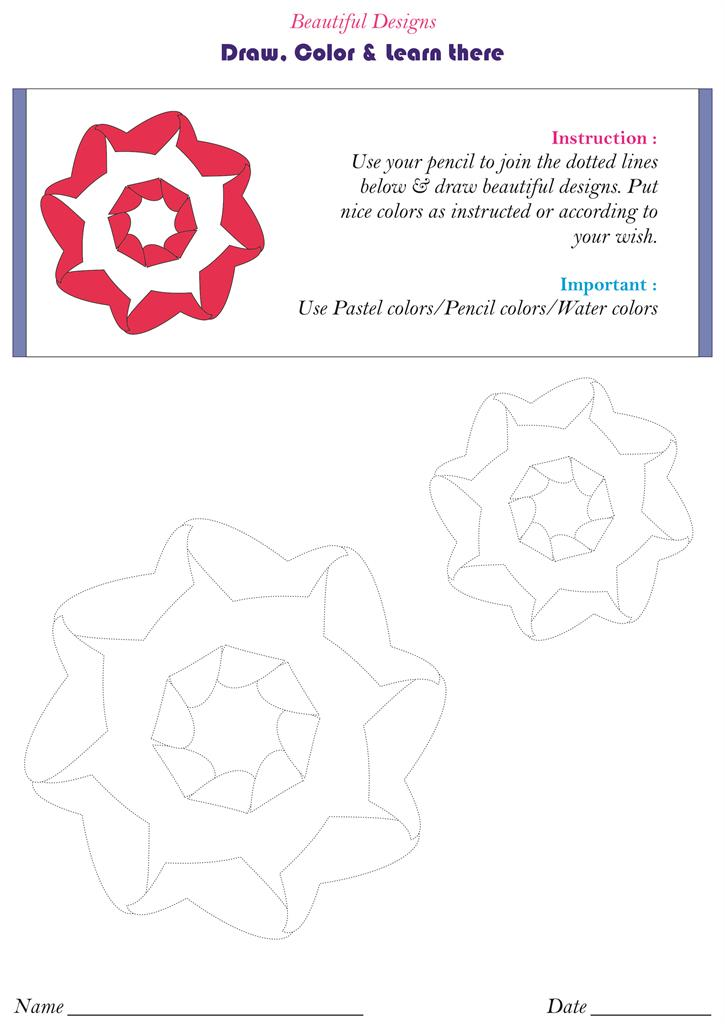 Beautiful flower designs - pg. 17