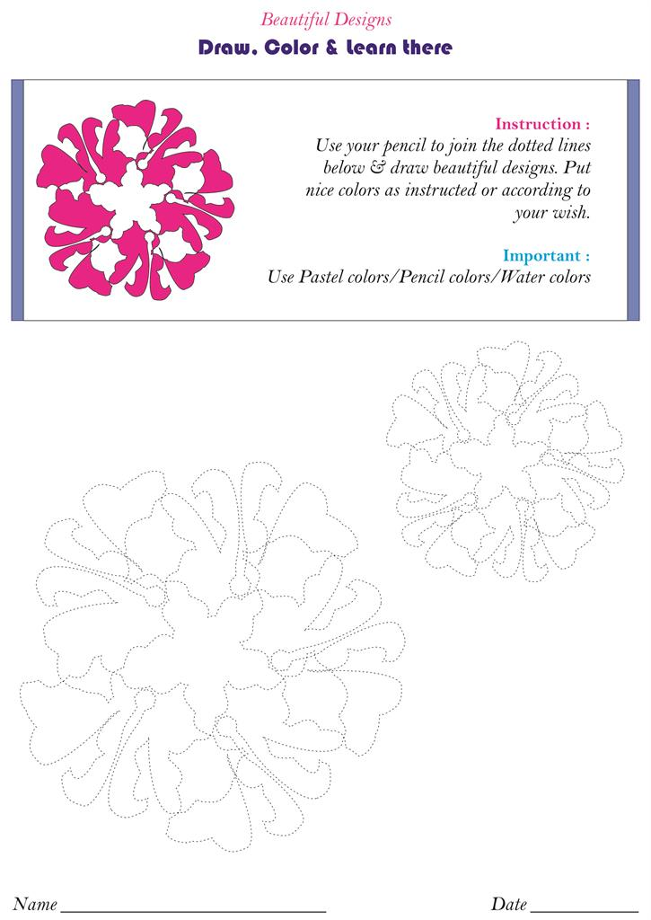 Beautiful flower designs - pg. 71